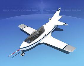 3D model Bede BD-5J Microjet V07