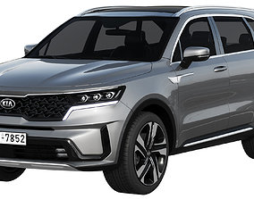 vehicle 3D model KIA Sorento 2021