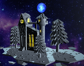 Nightmare house 3D model