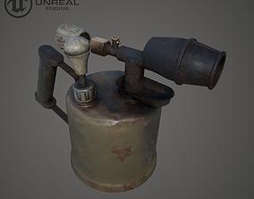 Gasoline blow torch 3D asset