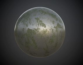 3D model Metal Rusted Painted Seamless PBR 1