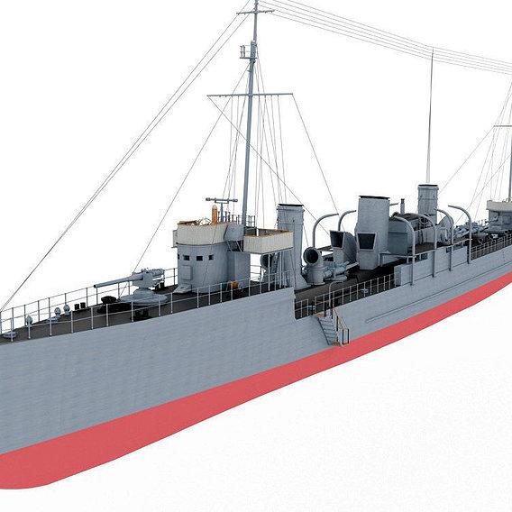 Destroyer type Novik