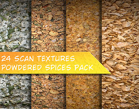 3D model Powdered Spices Texture Pack