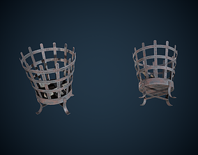 3D model Viking Brazier