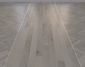 3D asset Parquet massive Oak herringbone chevron linear