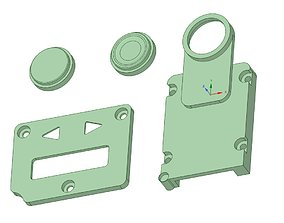 Billetbox rev 4 Inner panels 3D printable model