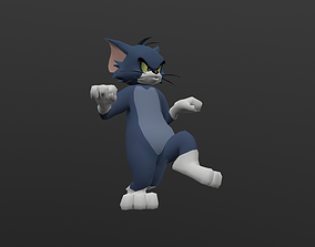 TOMC-027 Tom Cat Slow Walking 3D asset