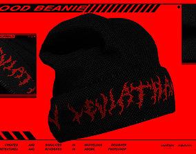 Blood Beanie 3D