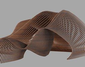 Parametric Pavilion 3D model