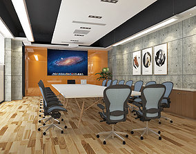 3D asset Modern Office Meeting Room