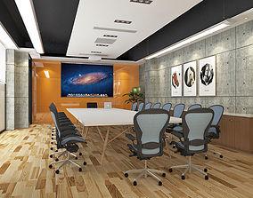 3D asset Modern Office Meeting Room