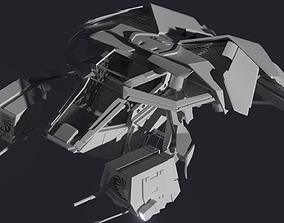 3D asset THE BAT