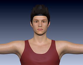 3D asset Young Boy PBR High Quality
