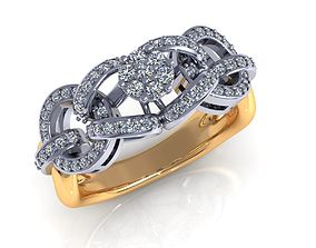 3D printable model Wedding Ring R334