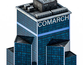 Central Tower 3D model