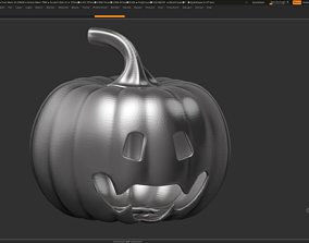 halloween pumpkin 07 3D print model