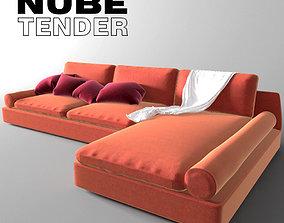 Nube Tender 3D model