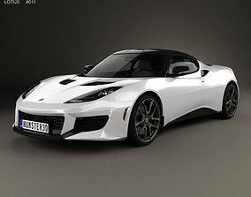 3D model Lotus Evora 400 2014