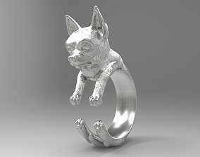 dog ring 3D printable model