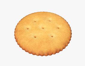3D PBR Round cracker
