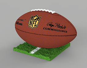 3D printable model Rugby ball