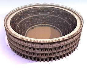Roman Colosseum 3D model low-poly