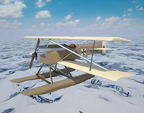 Hansa Brandenburg KDW 3D model