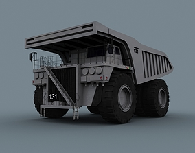 animated Your Dump Truck - 3d animated truck model