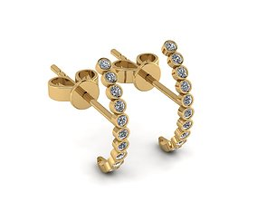 girls Earrings 3D print model