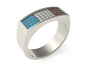 Ring 3D printable model cad