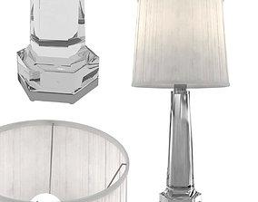 Baccarat Table Lamp Krystal 3D
