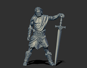 Highlander - Sigvald 3D print model - 35mm