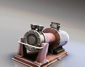 Water Pump 3D asset