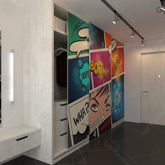 Wardrobe (hallway) project one