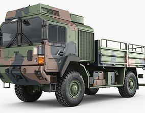 3D model Military truck MAN HX60