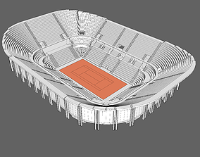 3D Central Stadium of Tennis of Rome Centrale del tennis