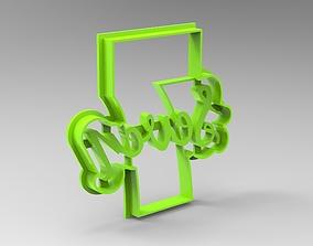 numbers cookie cutter 7 3D printable model