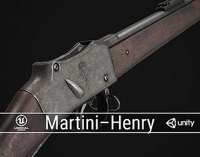 3D asset PBR British Martini-Henry