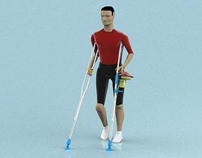 3D print model Crutch Helper Accessories project