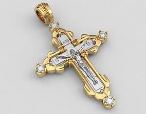 3D printable model Cross Jesus