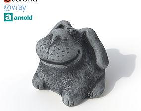 3D model Statuette Dog