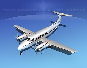 3D model Beechcraft 350 Super King Air V06