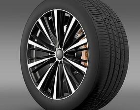 Toyota FT 86 open concept wheel 2014 3D