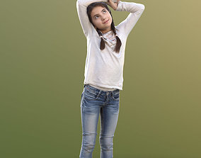 3D model 10626 Sophie - Young Girl With Arms Over Head