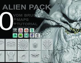 VDM FULL ALIEN PACK 30 BRUSHES 3D