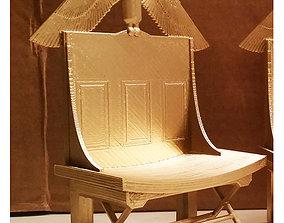3D printable model King Tut Throne