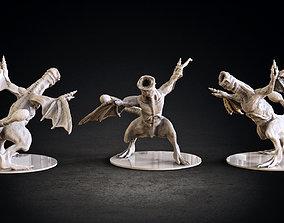 creature 3D print model Khezu monster miniature
