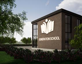 3D School Project on Revit 2019