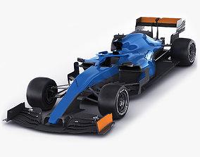Generic F1 racing car 3D