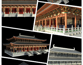 Chinese classical temple 3D